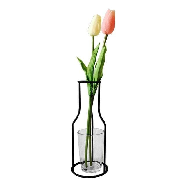 Iron Outline Vase - G09 - vase