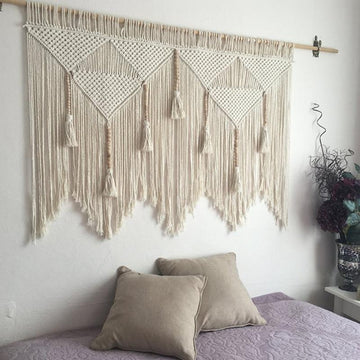 Large Macrame Handwoven Tapestry