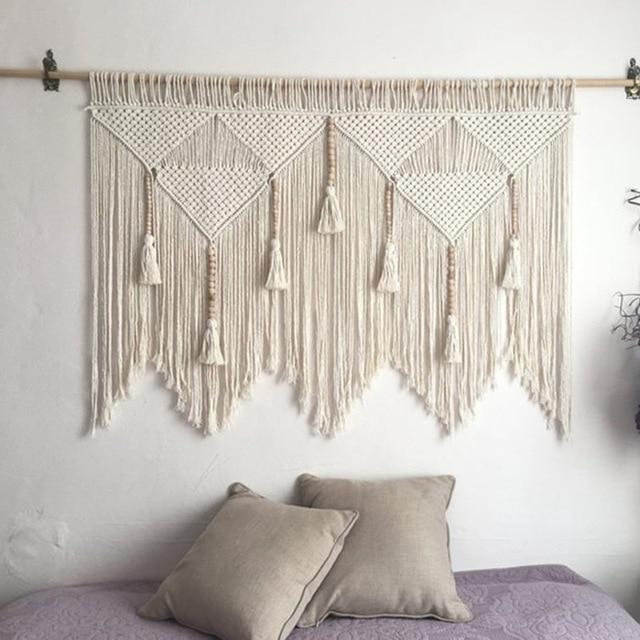 Large Macrame Wall Hanging Tapestry
