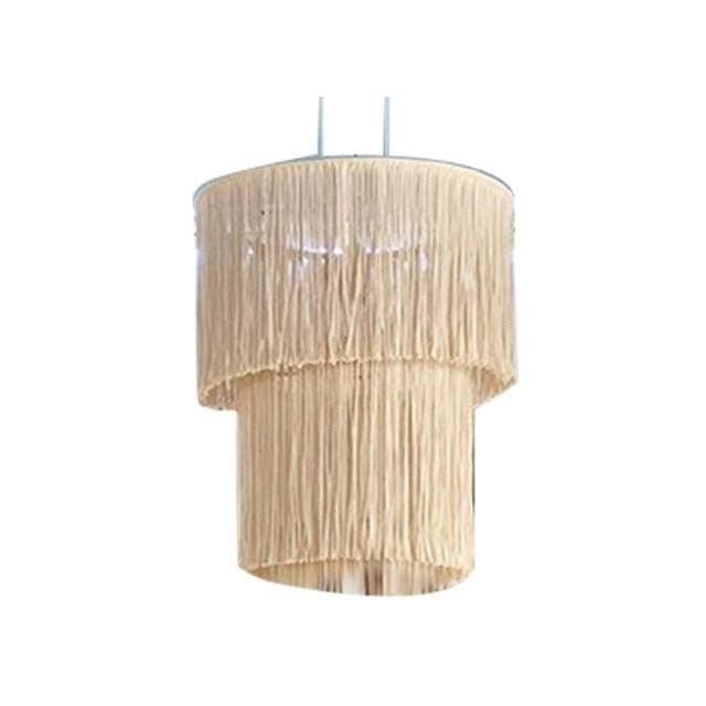 Macrame Lampshade - Putty - lampshade