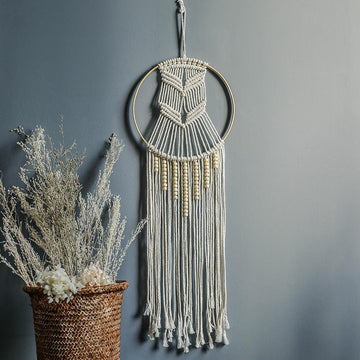 Macrame Ornamental Dreamcatcher