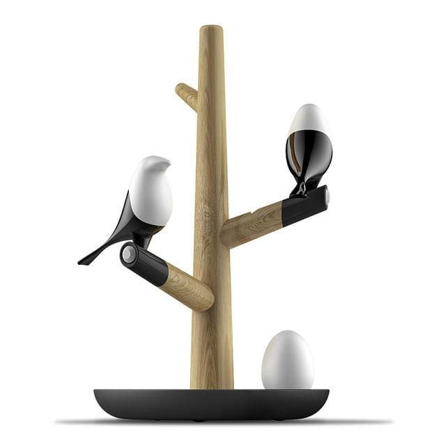 Magpie Bird Night Lamp - 2 Birds 1Egg - lamp