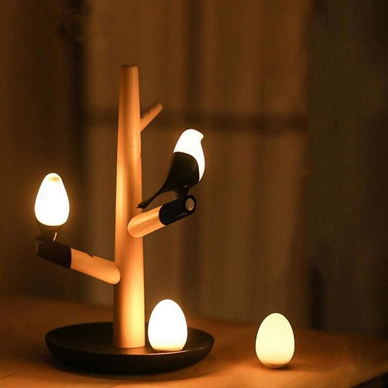 Magpie Bird Night Lamp - lamp