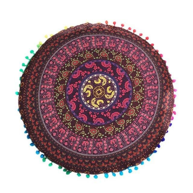 Mandala floor pillow - 10 - floor pillow