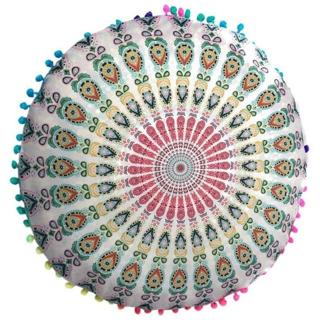 Mandala floor pillow - 15 - floor pillow