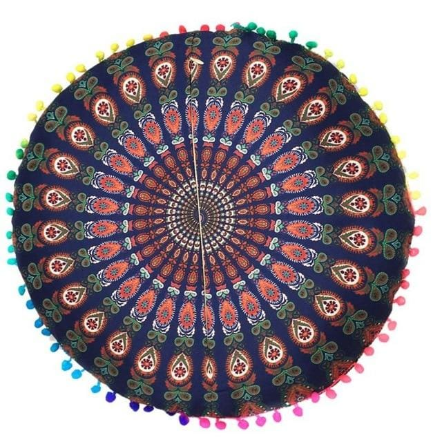 Mandala floor pillow - 3 - floor pillow