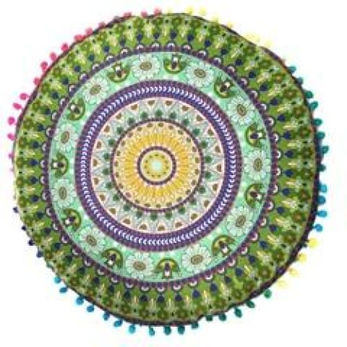 Mandala floor pillow - 8 - floor pillow