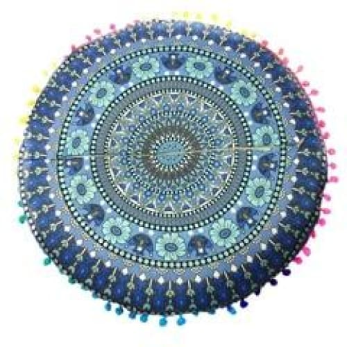 Mandala floor pillow - 9 - floor pillow