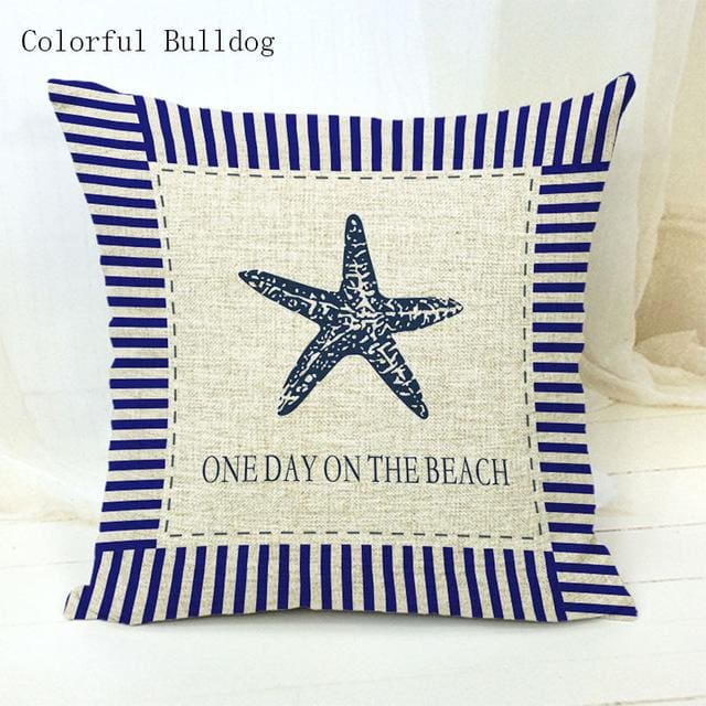 Marine Cushion Cover - 450mm*450mm / 1 - pillow case
