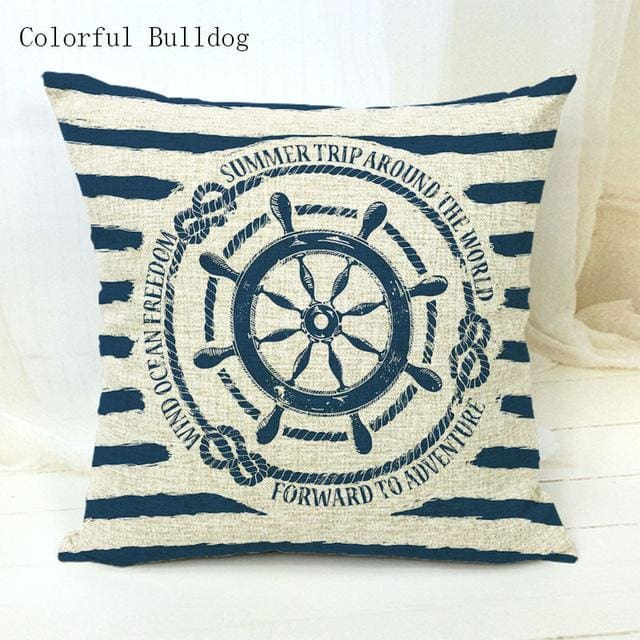 Marine Cushion Cover - 450mm*450mm / 10 - pillow case