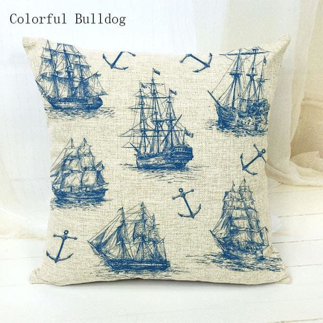 Marine Cushion Cover - 450mm*450mm / 12 - pillow case
