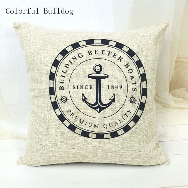 Marine Cushion Cover - 450mm*450mm / 14 - pillow case