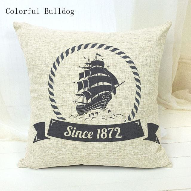Marine Cushion Cover - 450mm*450mm / 15 - pillow case