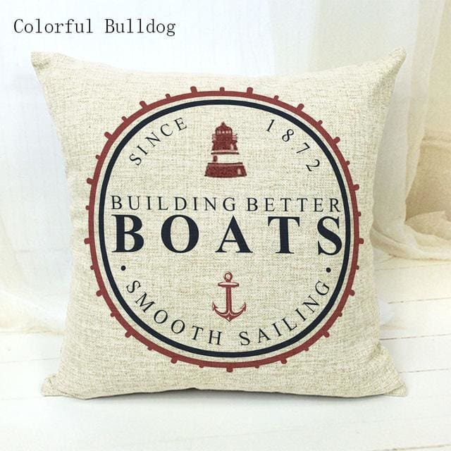 Marine Cushion Cover - 450mm*450mm / 16 - pillow case