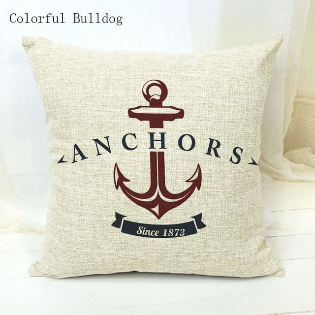 Marine Cushion Cover - 450mm*450mm / 17 - pillow case