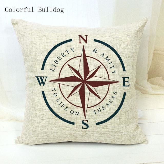 Marine Cushion Cover - 450mm*450mm / 18 - pillow case