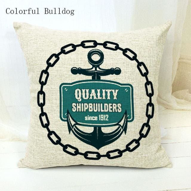 Marine Cushion Cover - 450mm*450mm / 21 - pillow case