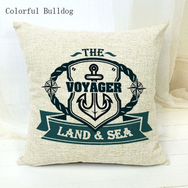 Marine Cushion Cover - 450mm*450mm / 24 - pillow case