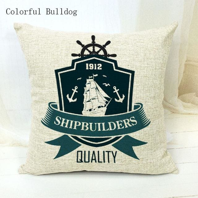 Marine Cushion Cover - 450mm*450mm / 25 - pillow case