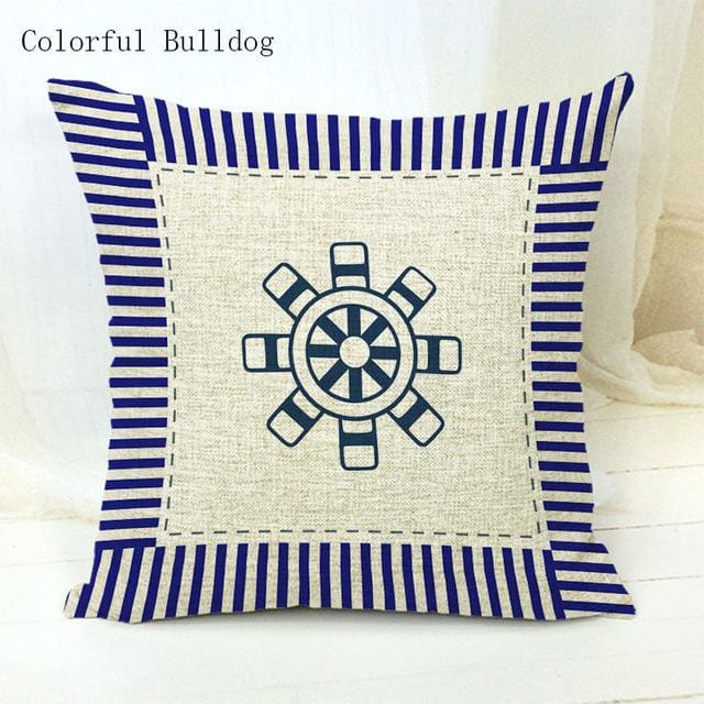 Marine Cushion Cover - 450mm*450mm / 3 - pillow case