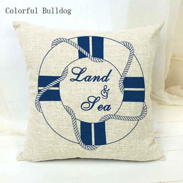 Marine Cushion Cover - 450mm*450mm / 5 - pillow case
