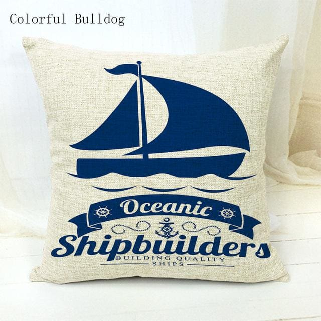 Marine Cushion Cover - 450mm*450mm / 6 - pillow case