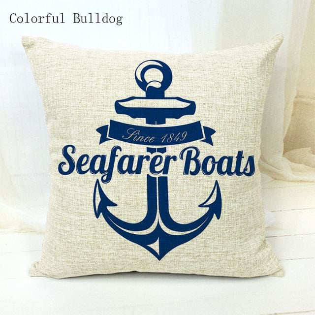 Marine Cushion Cover - 450mm*450mm / 7 - pillow case