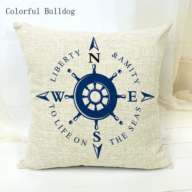 Marine Cushion Cover - 450mm*450mm / 8 - pillow case