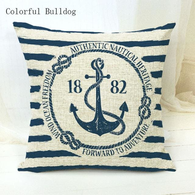 Marine Cushion Cover - 450mm*450mm / 9 - pillow case