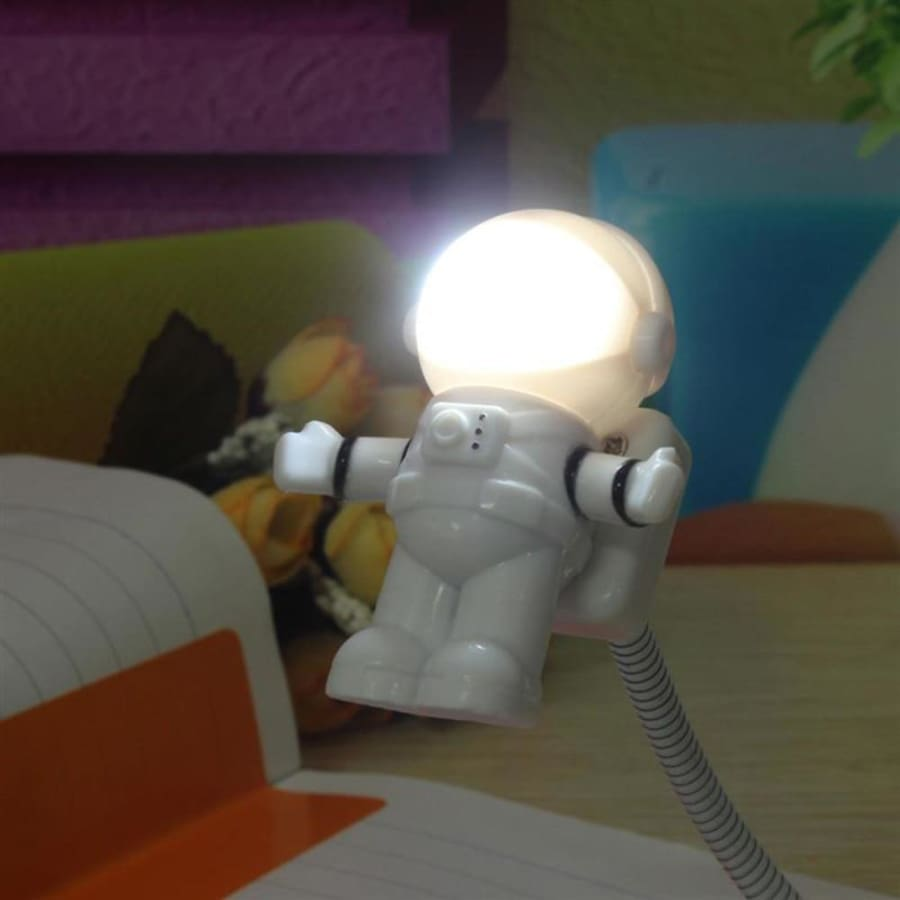 Mini Astronaut Reading Lamp - lamp