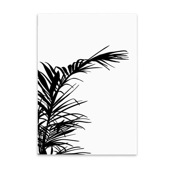 Minimalist Printed Wall Art - 20X25CM No Frame / Leaf - Wall Poster