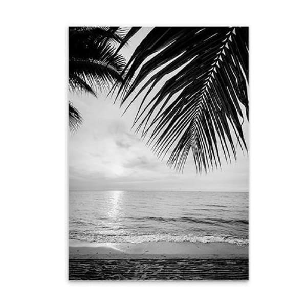 Minimalist Printed Wall Art - 20X25CM No Frame / Sunset Beach - Wall Poster