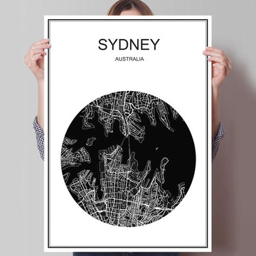 Modern World City Poster - Wall Poster