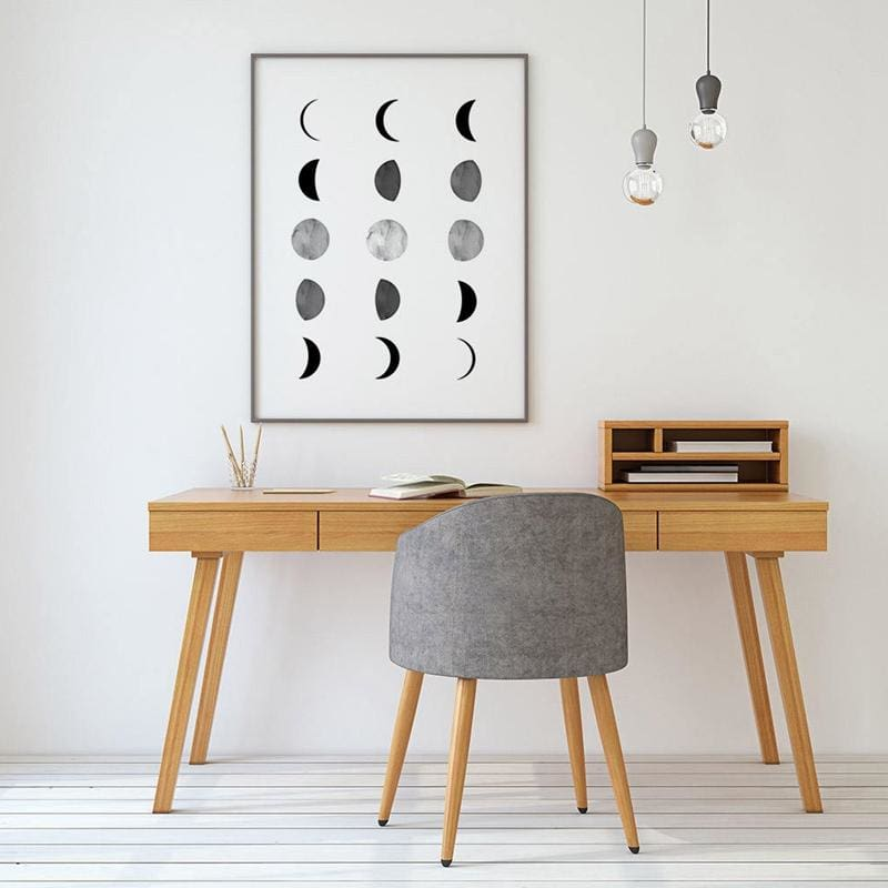 Moon Phases Poster - Wall Poster