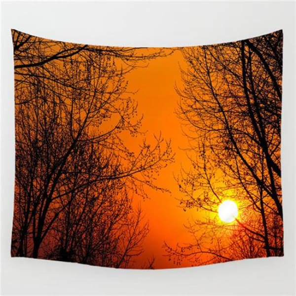 Nature Landscape Tapestry - 15 / 130X150 CM - tapestry