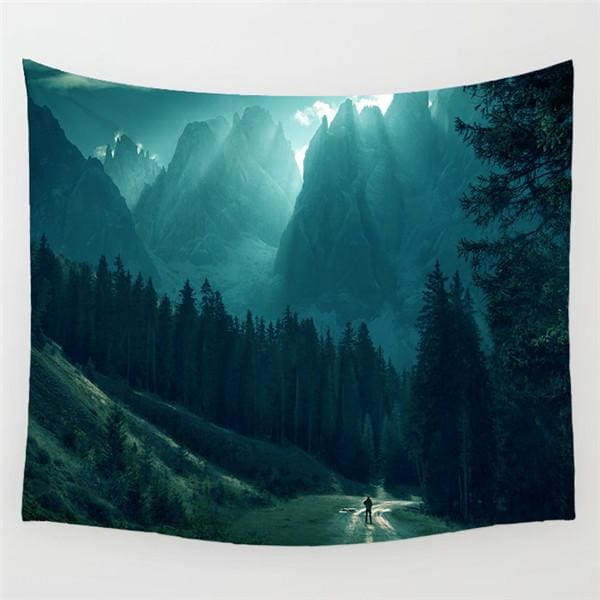 Nature Landscape Tapestry - 5 / 130X150 CM - tapestry