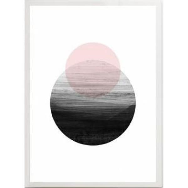 Nordic Abstract Posters - 30x40cm no frame / A - Wall Poster