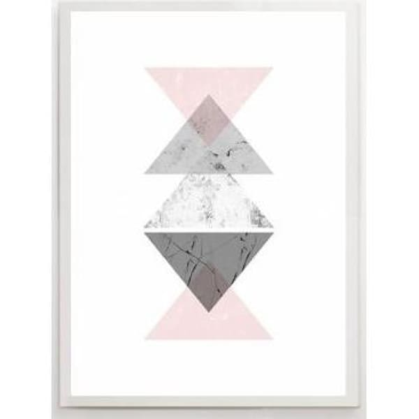 Nordic Abstract Posters - 30x40cm no frame / B - Wall Poster