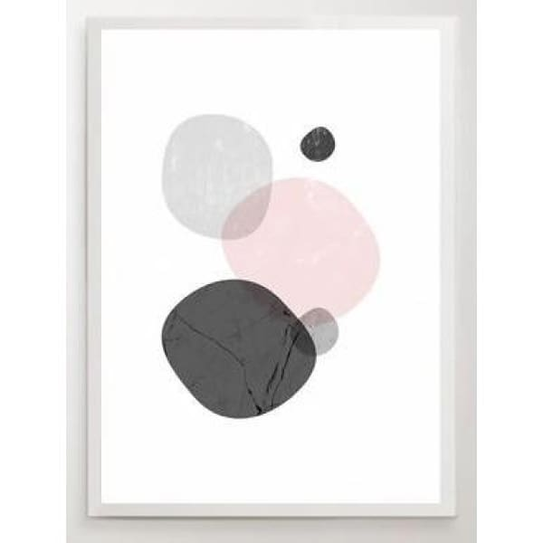 Nordic Abstract Posters - 30x40cm no frame / C - Wall Poster