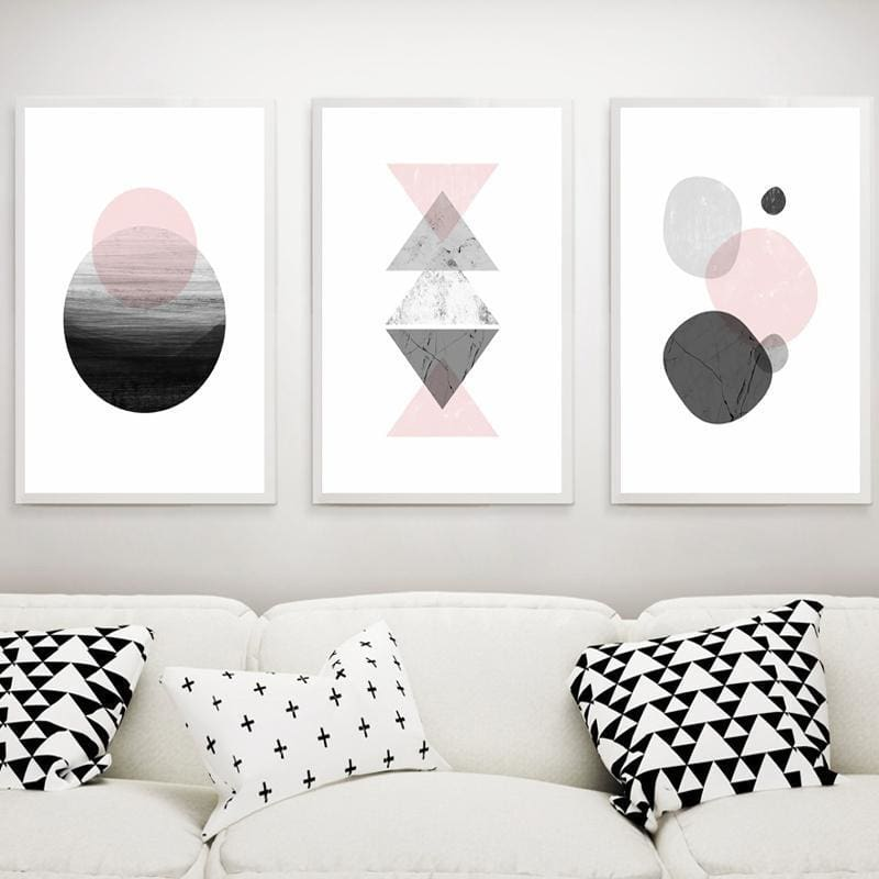Nordic Abstract Posters - Wall Poster