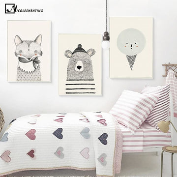 Nordic Animal Wall Posters - Wall Poster