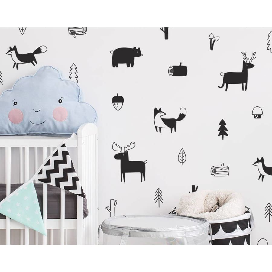 Nordic Style Wall Decals - wall stickers