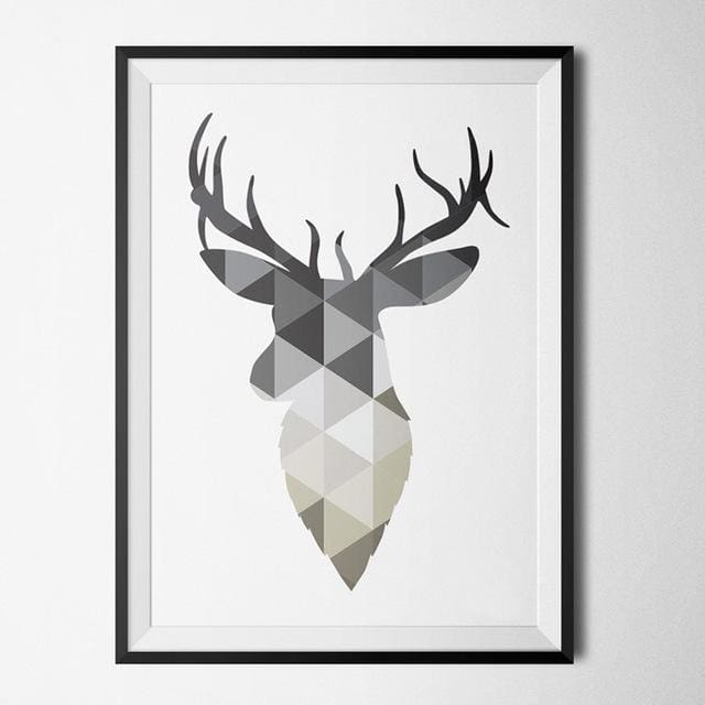 Nordic Wall ArtPoster - 10x15cm no frame / deer - Wall Poster
