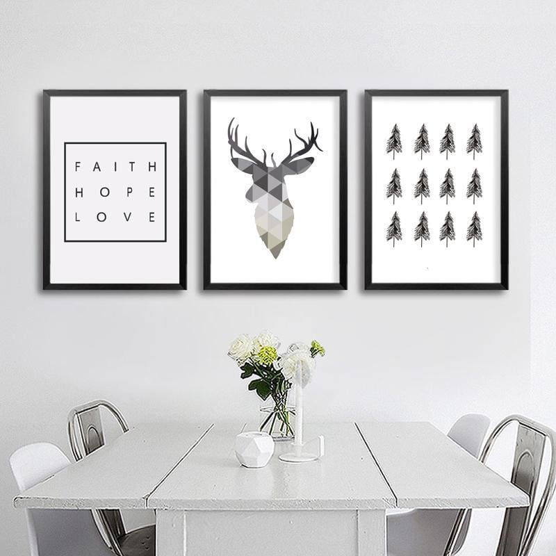 Nordic Wall ArtPoster - Wall Poster