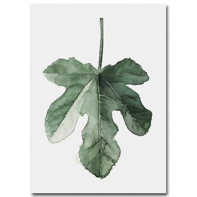 Plant Leaves Poster Print - 15x20cm No Frame / Picture 1 - Wall Poster