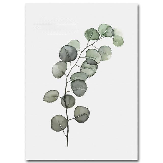 Plant Leaves Poster Print - 15x20cm No Frame / Picture 4 - Wall Poster