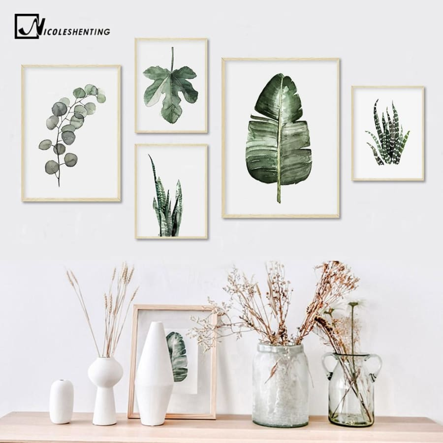 Plant Leaves Poster Print - Wall Poster
