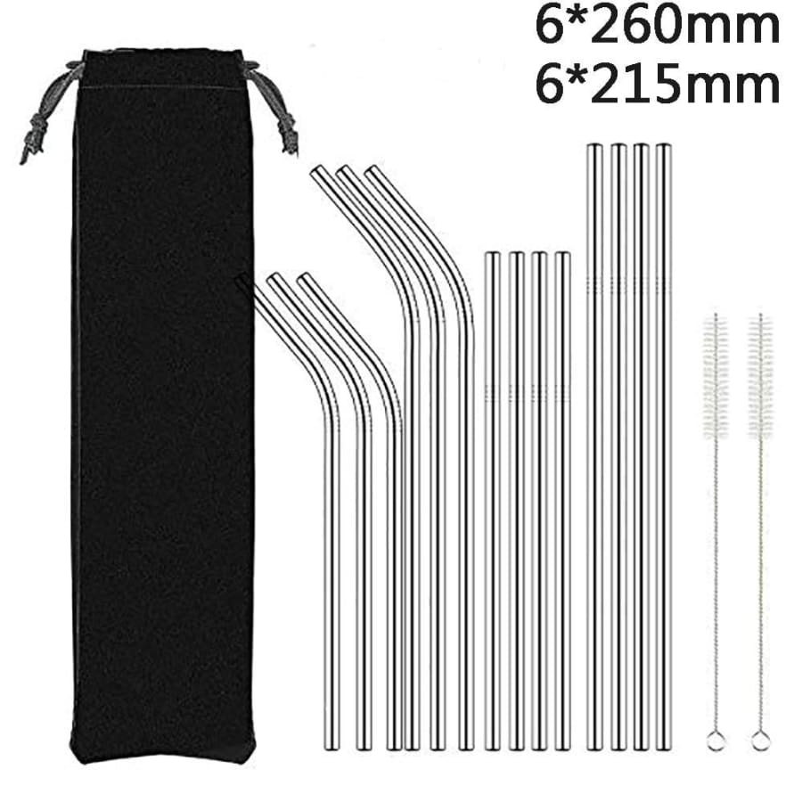 Reusable Metal Straws - straws