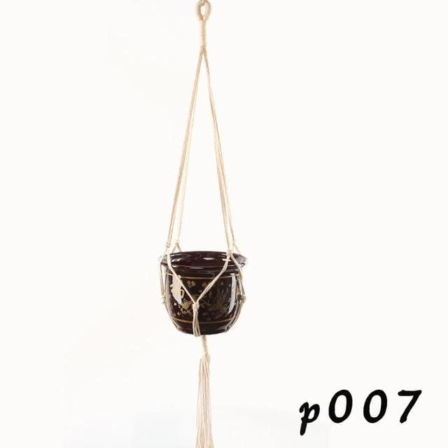 Rope Hanging Planters - P007 - wall planter