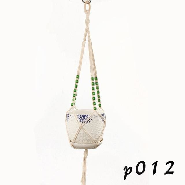 Rope Hanging Planters - P012 - wall planter